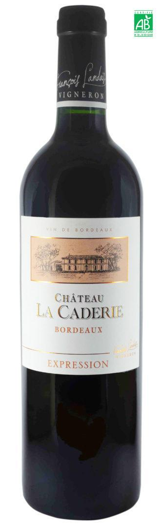 chateau la caderie cuv e expression 2016 bordeaux rouge 75 cl tr s tr s vins. Black Bedroom Furniture Sets. Home Design Ideas