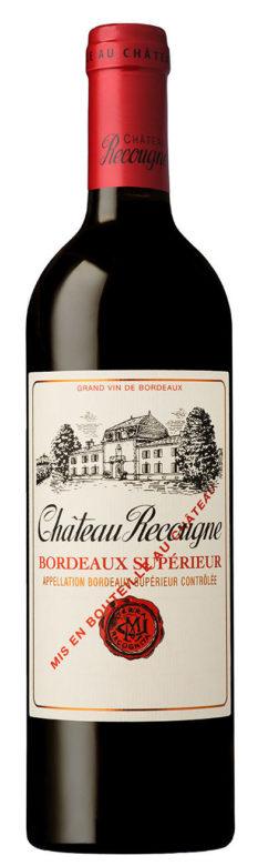 Vin de Bordeaux Chateau Recougne rouge
