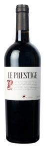 Le Prestige Rouge Collines du Bourdic, Tannins fins et soyeux
