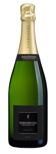 Champagne Yannick Prévoteau Carte d'Or